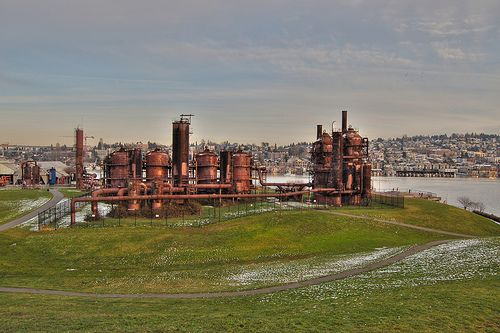 Gas Works Park | A great view of the Space Needle and Downtown. | #BHLDNseattle