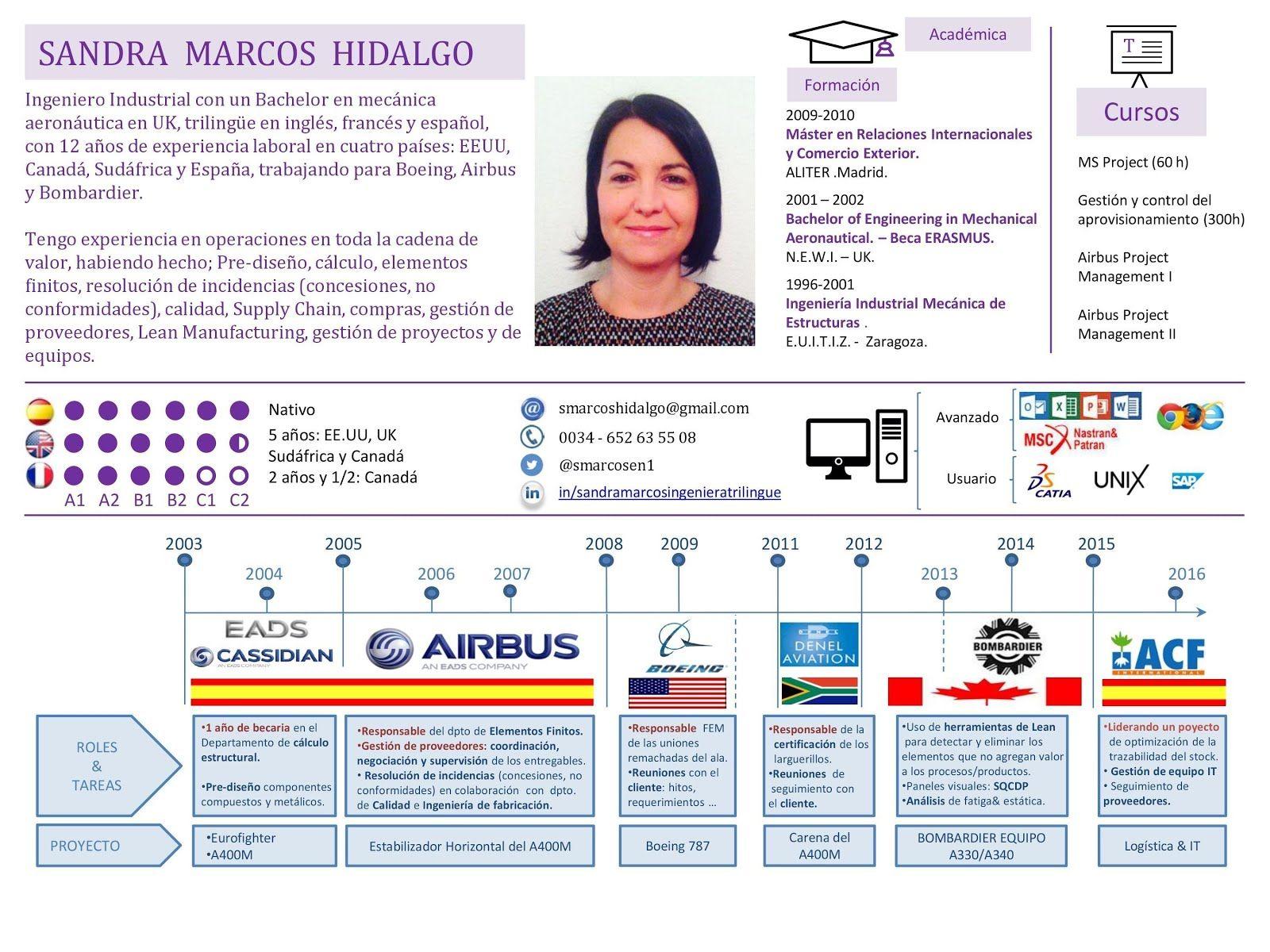 Plantilla de CV estilo Infografía. 100% editable y gratis - Gabriel ...