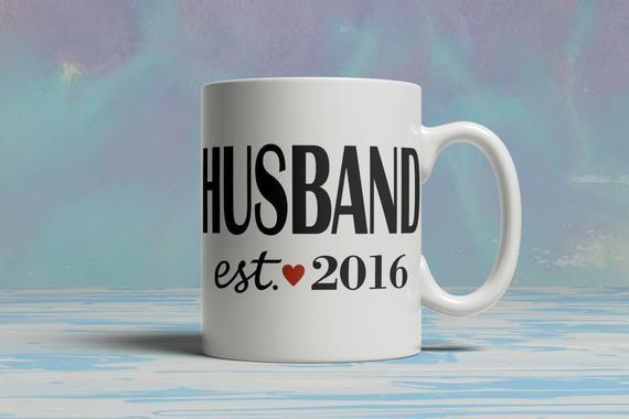 Coffee Mug Custom HUSBAND Mug your DATE /YEAR Customized Custom Mug Personalized Mug, Coffee Lover, #custommugs