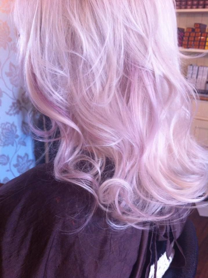 Beautiful Lilac Colour Created Using Redken Shades EQ