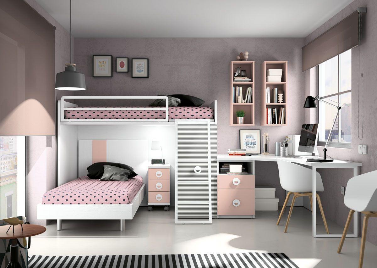 Muebles Azor Fabricantes De Muebles Desde 1983 Small Room Bedroom Girl Bedroom Decor Twin Girl Bedrooms