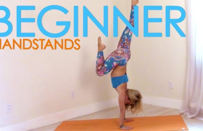 Beginner Handstands with Kino Yoga - FIT LIFE VIDEOS