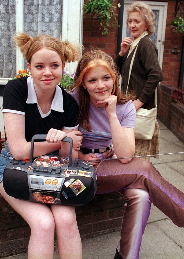 Sister sister! Actress Georgia Taylor (left) will be rejoining Jane Danson, who plays her on-screen step sister, Leanne Battersby when she returns to the cobbles