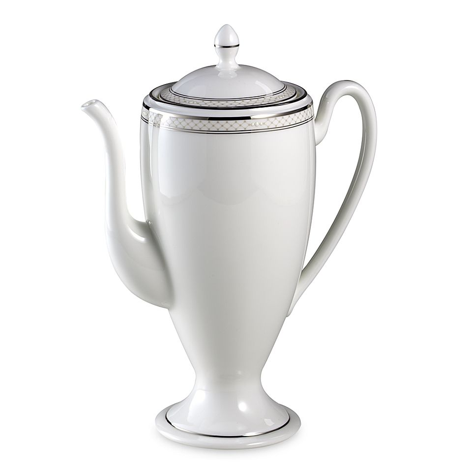 Waterford Padova Coffee Server White/platinum #coffeeserver
