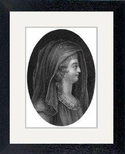 Print of 'Lady Jane Grey, Queen of England. Artist: J Chapman'
