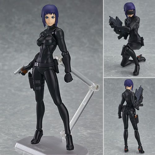 Ghost In The Shell The New Movie Motoko Kusanagi Figma Figure Ghost In The Shell Motoko Kusanagi Ghost