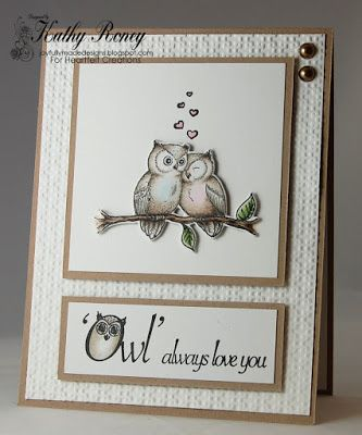 Joyfully Made Designs by Kathy Roney using Heartfelt Creations' Sugar Hollow Collection