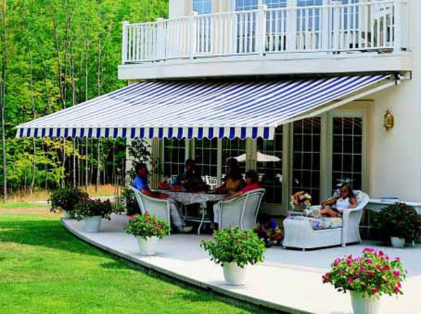 Inspirational Retractable Awning for Balcony