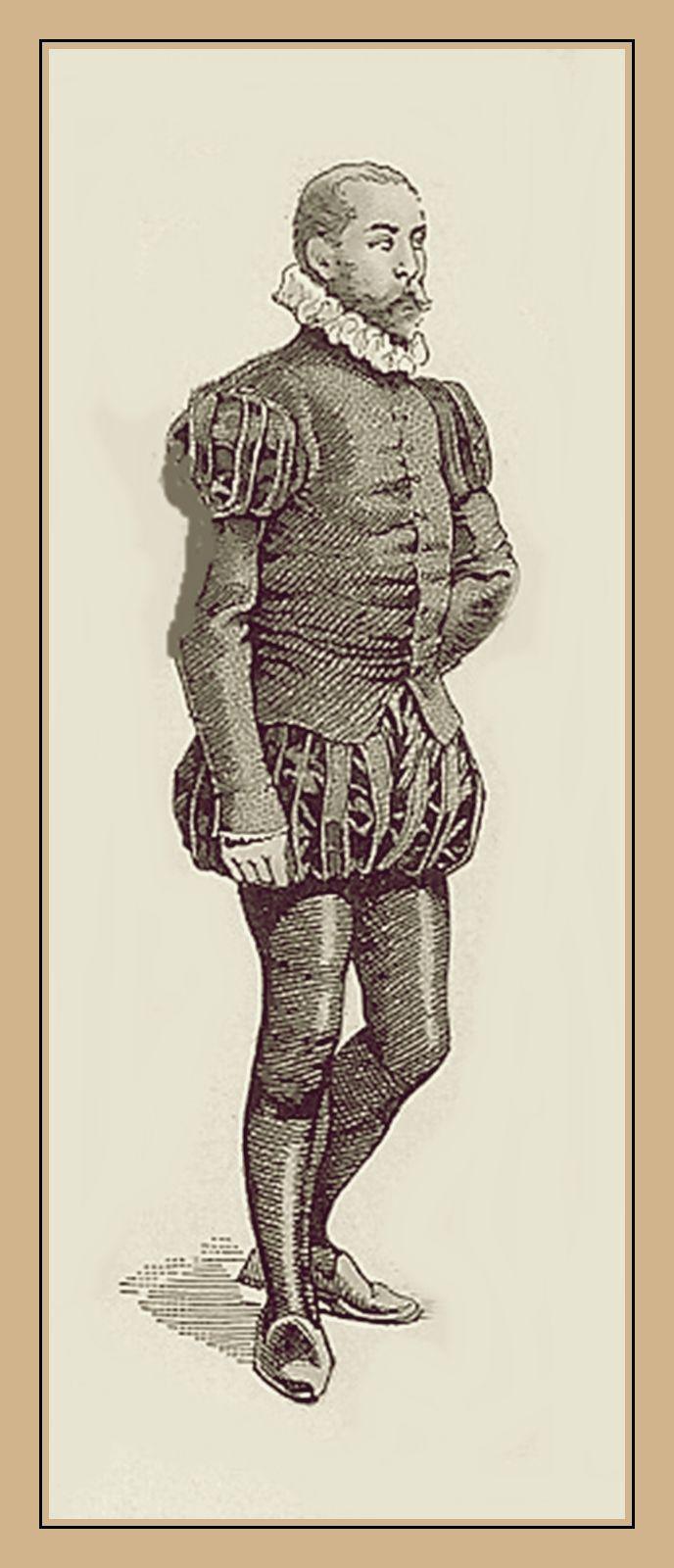 Vestuario español siglo XVI.
