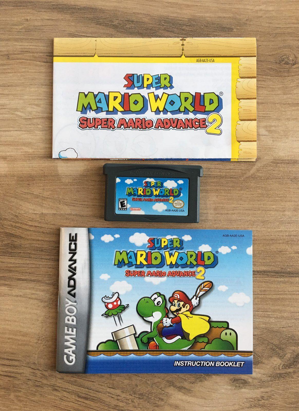 Super Mario Advance 2 Super Mario World For The Nintendo Game