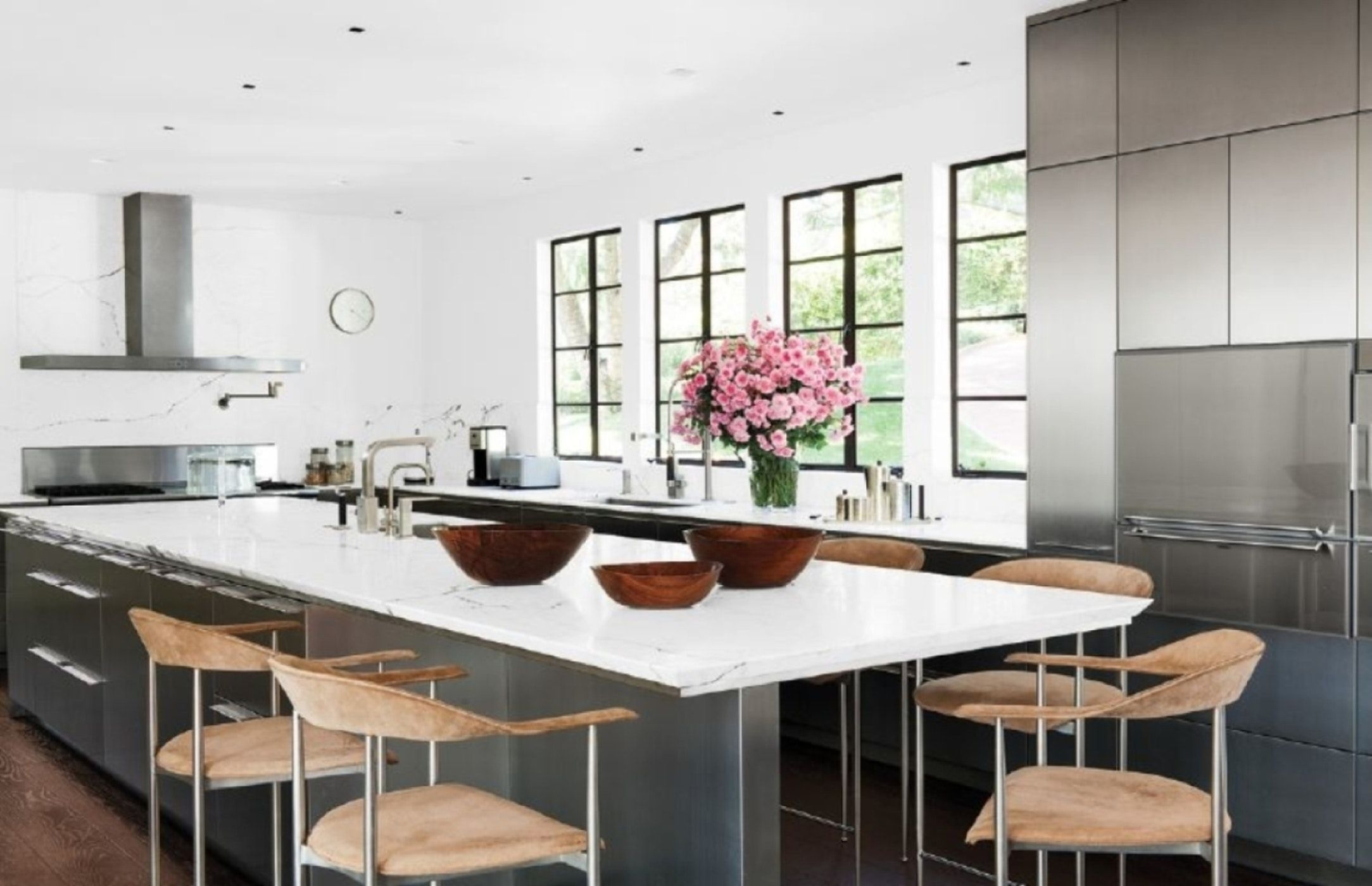 Bel Air Residence - Contemporary Bulthaup Kitchen   Kitchen ...