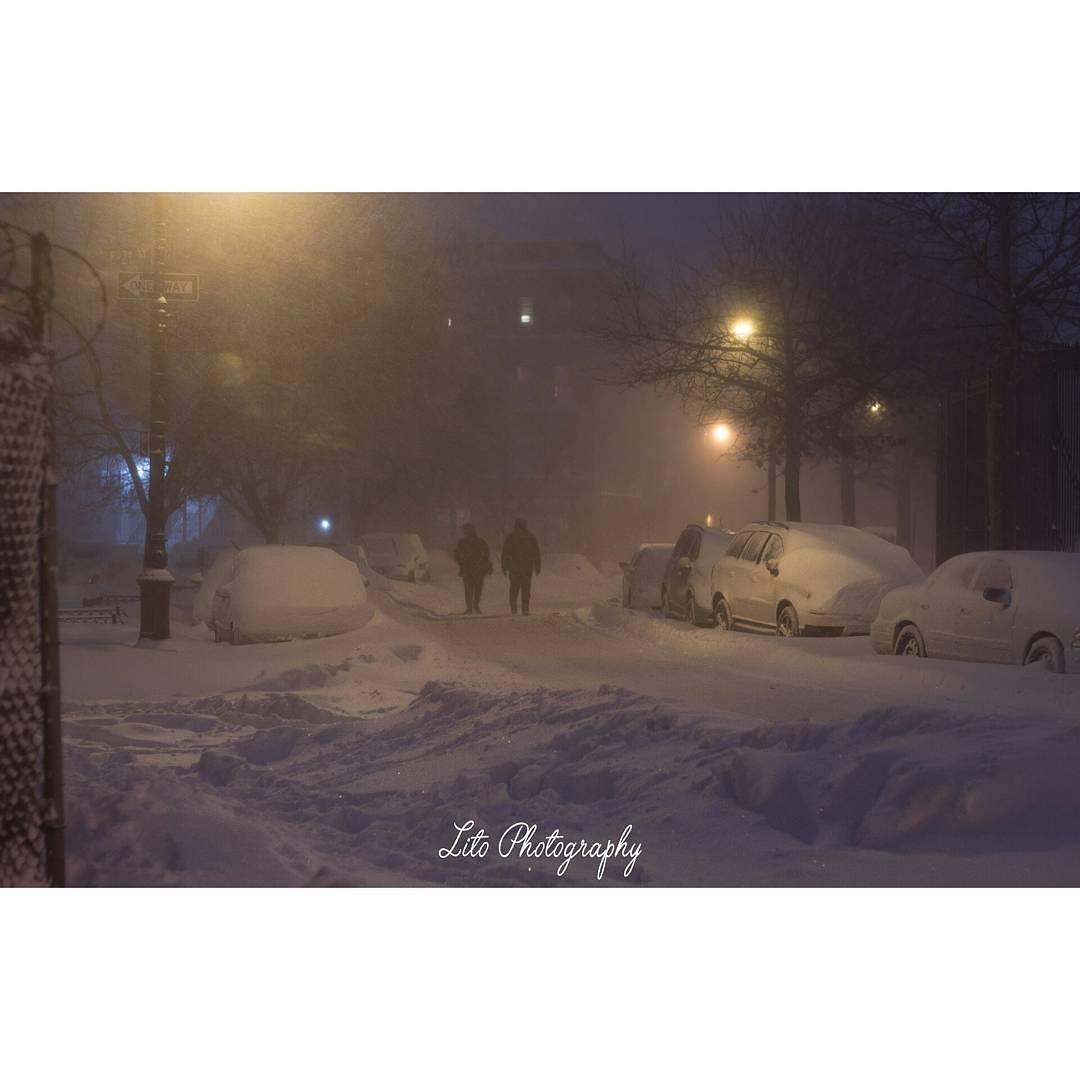 Peaceful! #litophotography #snow #snowday #blizzard #blizzardjonas #nycsnow by lito_photography