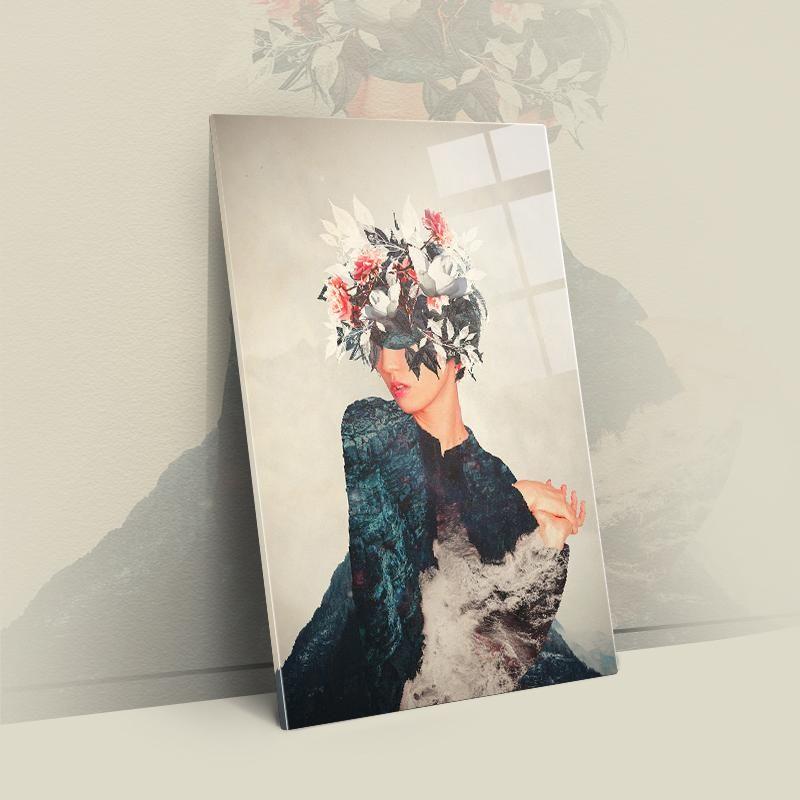 Kumiko – Acryl / L – 24×36  / 60x90cm