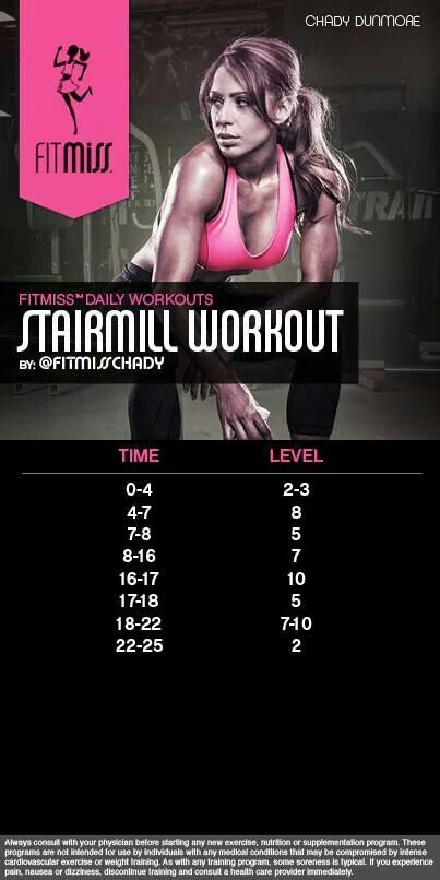 Stair Stepper Work It Out Stairmaster Workout