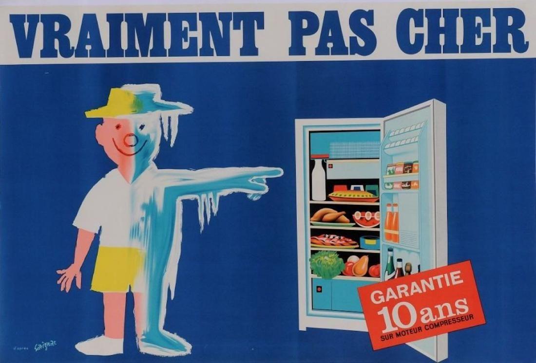 R frig rateur vraiment pas cher 1952 raymond - Electromenager pas cher paris ...