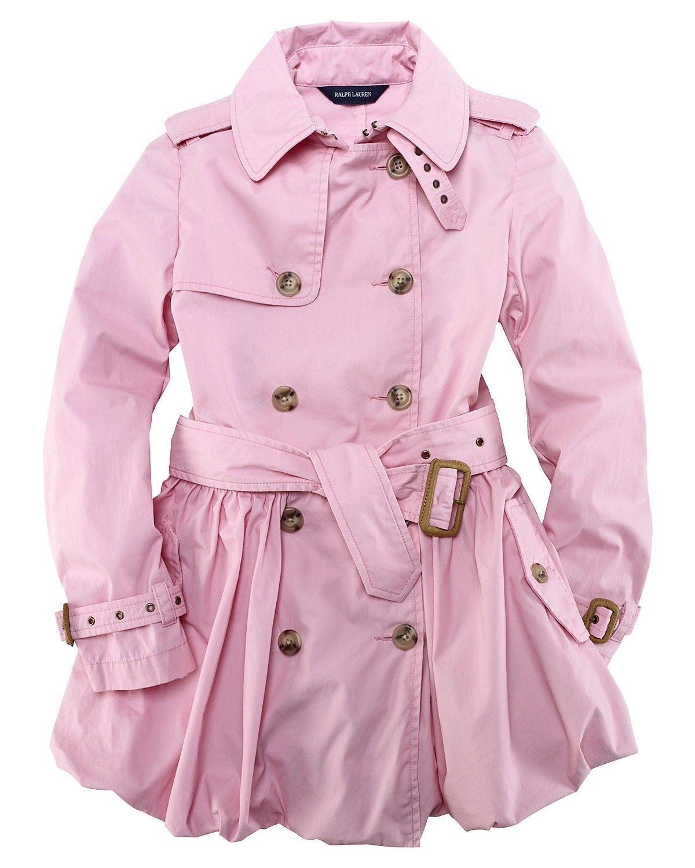 ralph lauren childrenswear girls\' bubble trench coat | Niña ...