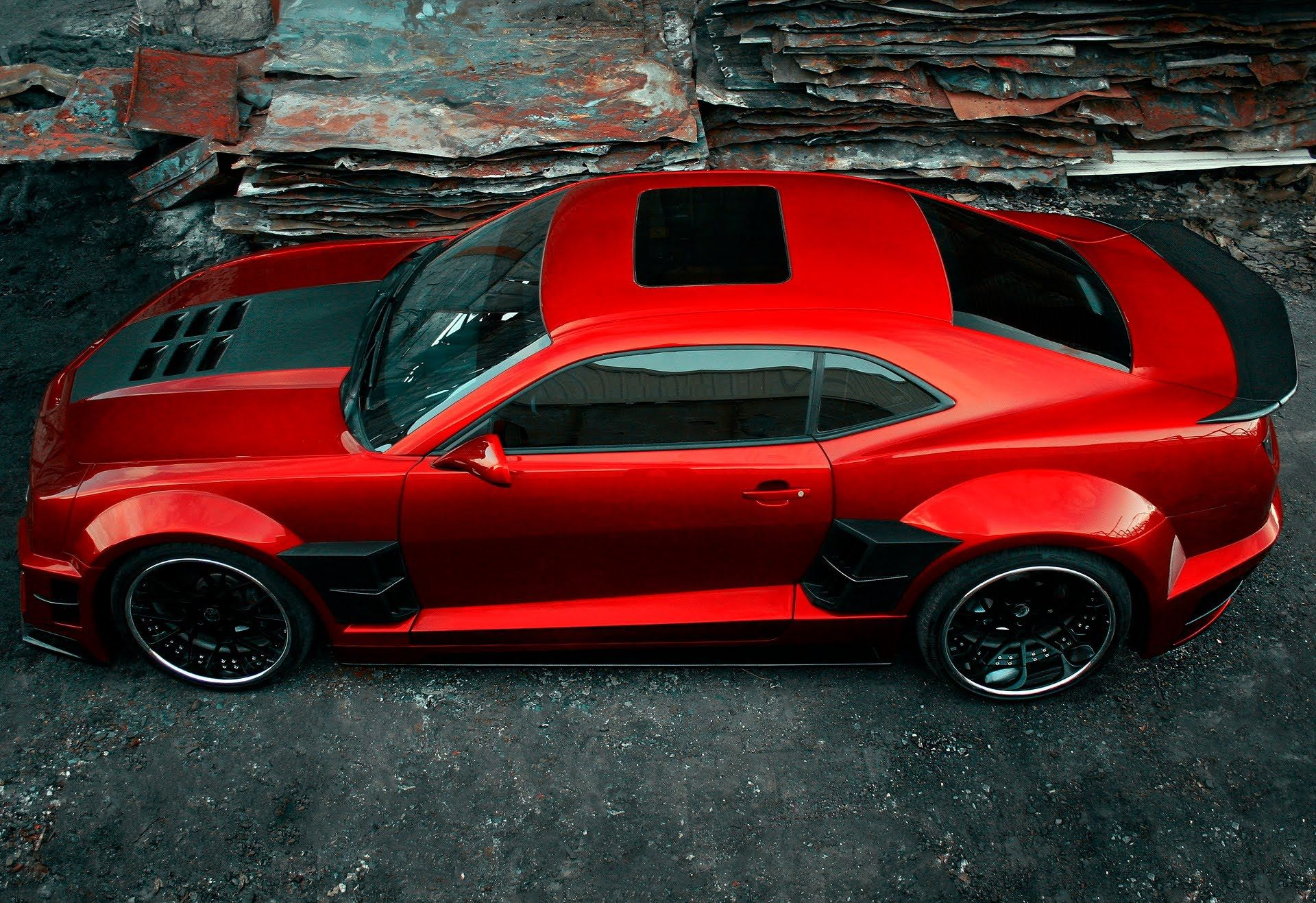 New 2015 Chevrolet Camaro Z28 wide Body vs Previous Model