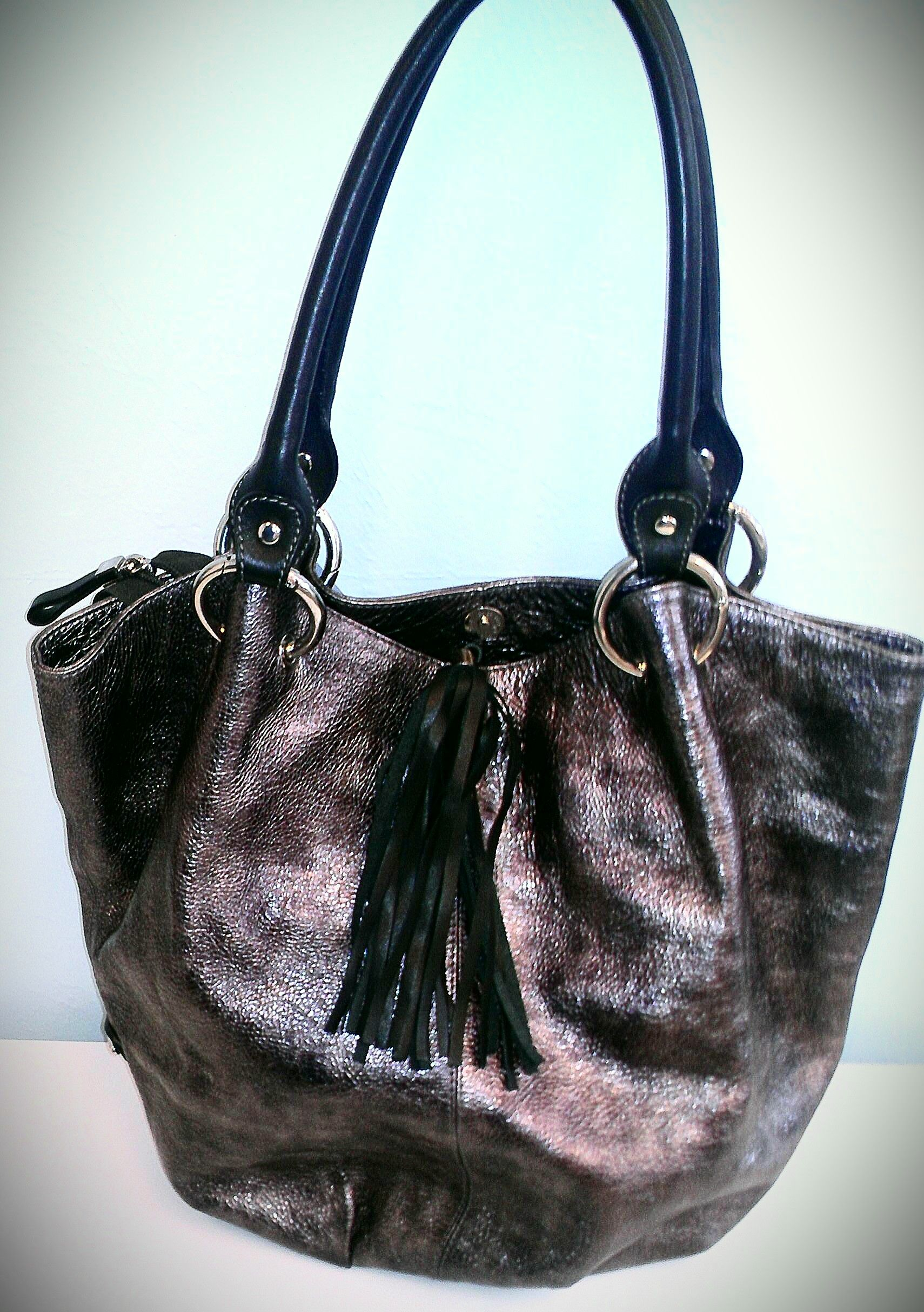 Puntotres Leather Handbag Sold Was Available At Gadgets Gold In Gainesville Fl