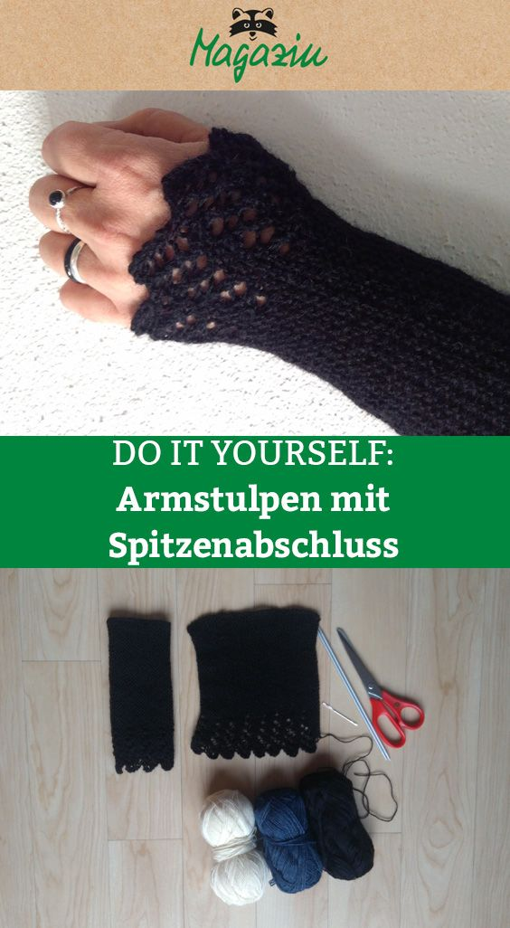 Photo of DIY: Armstulpen stricken