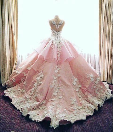 b43f32e7c34 Bonito vestido rosa