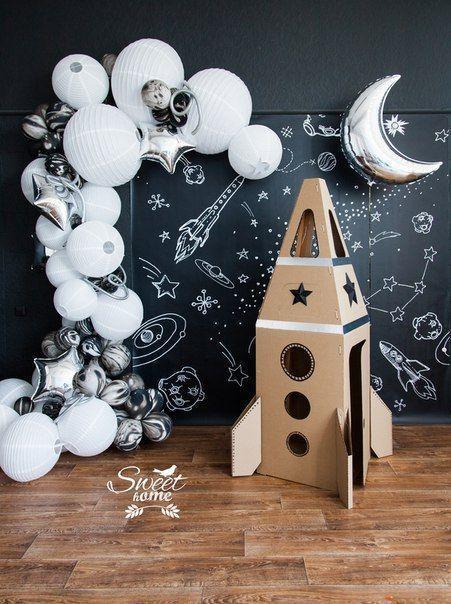 50+ Galaxy Themed Birthday Party Decorations & Ideas