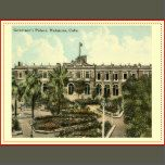 A reproduction of a vintage postcard.  [Z CU9807]