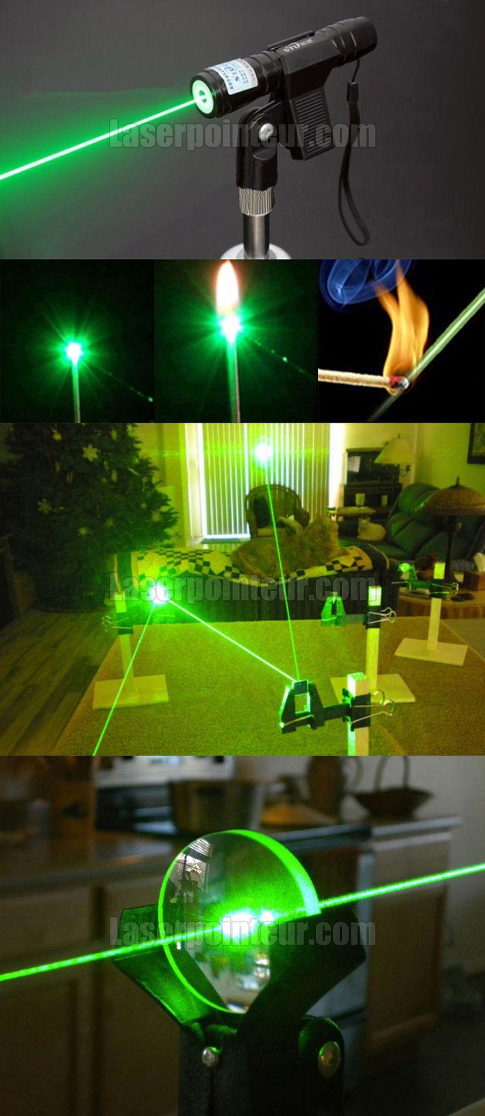 Pointeur laser vert 100mW longue portée | Pointeur Laser | Pinterest