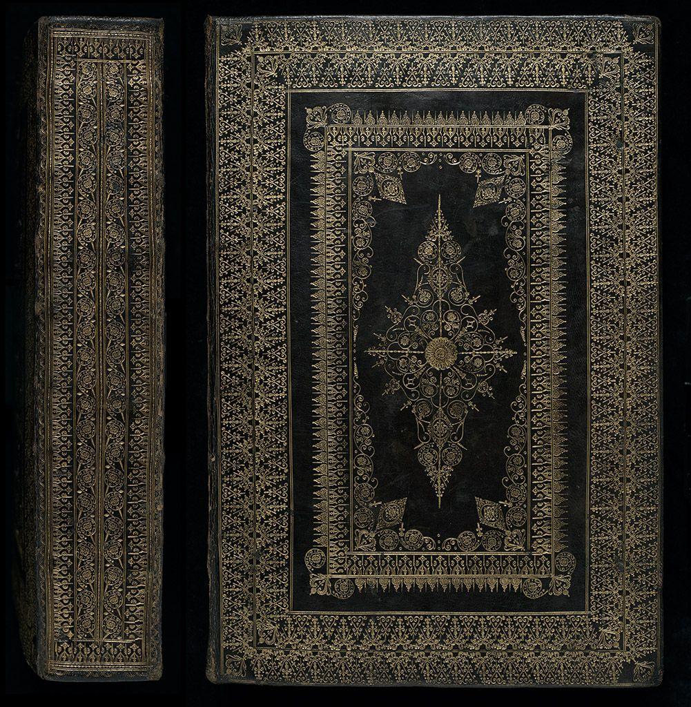 English fine binding, 17th century