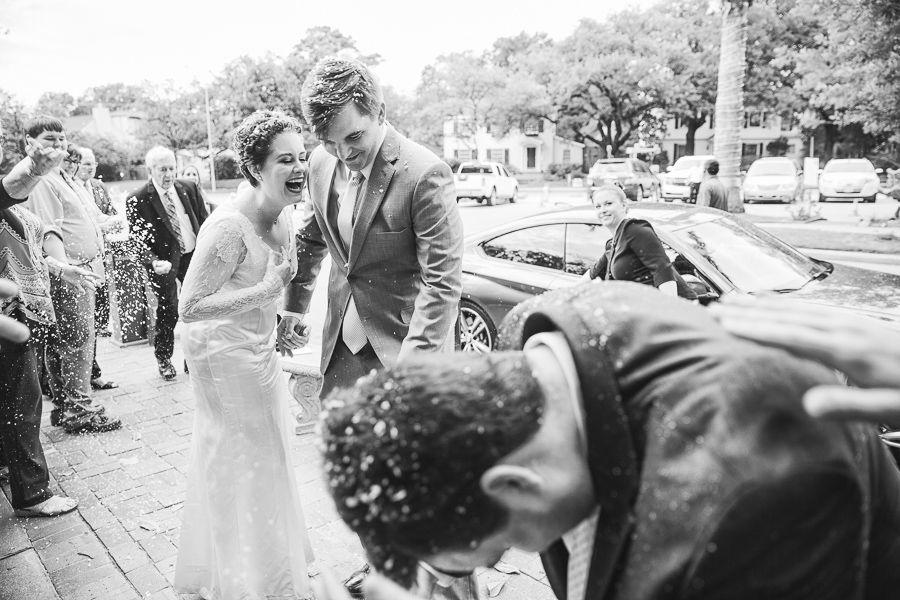 Houston Arboretum and Nature Center Wedding Jenn and