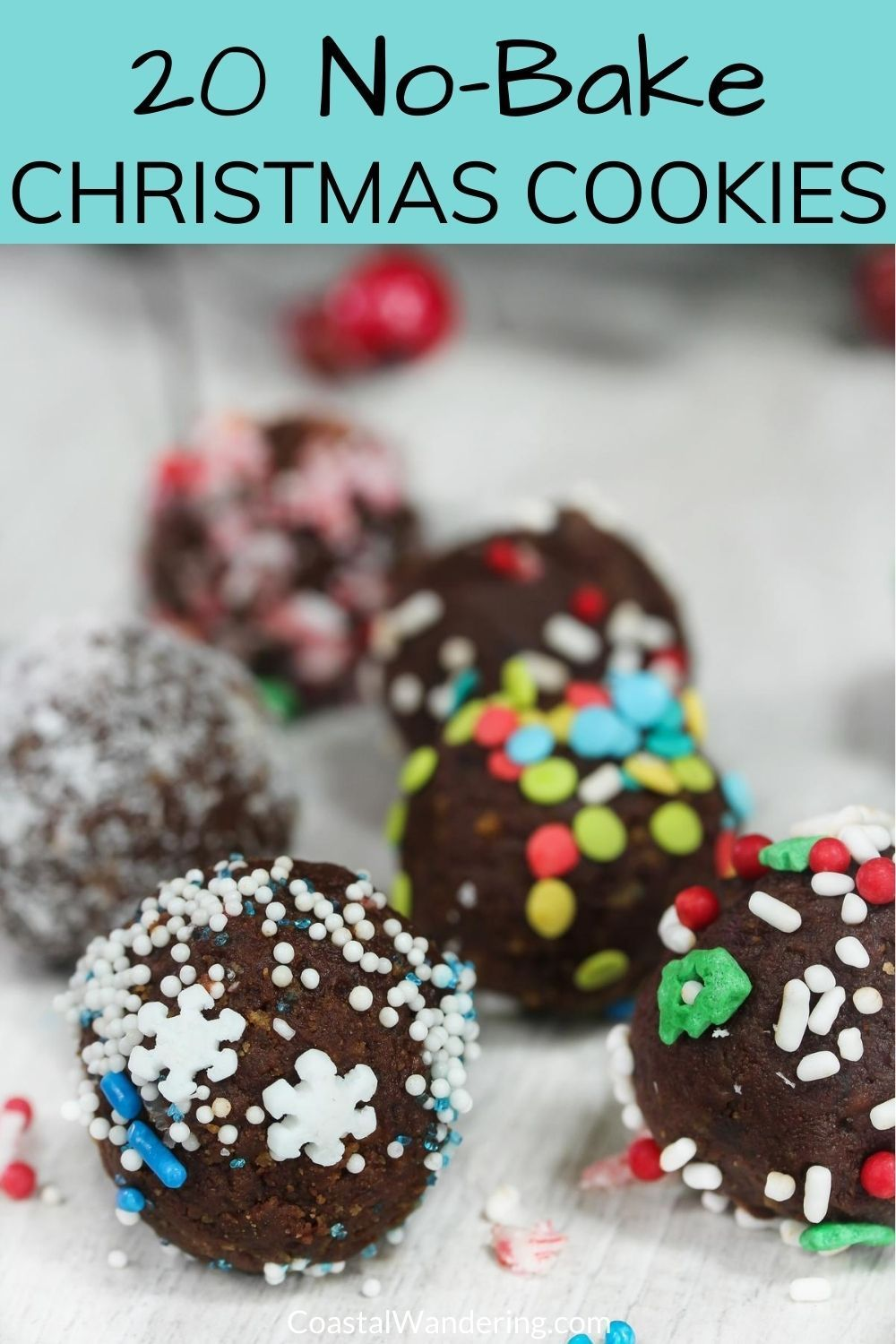 20 Easy No-Bake Christmas Cookies -   19 christmas cookies recipes easy no bake ideas