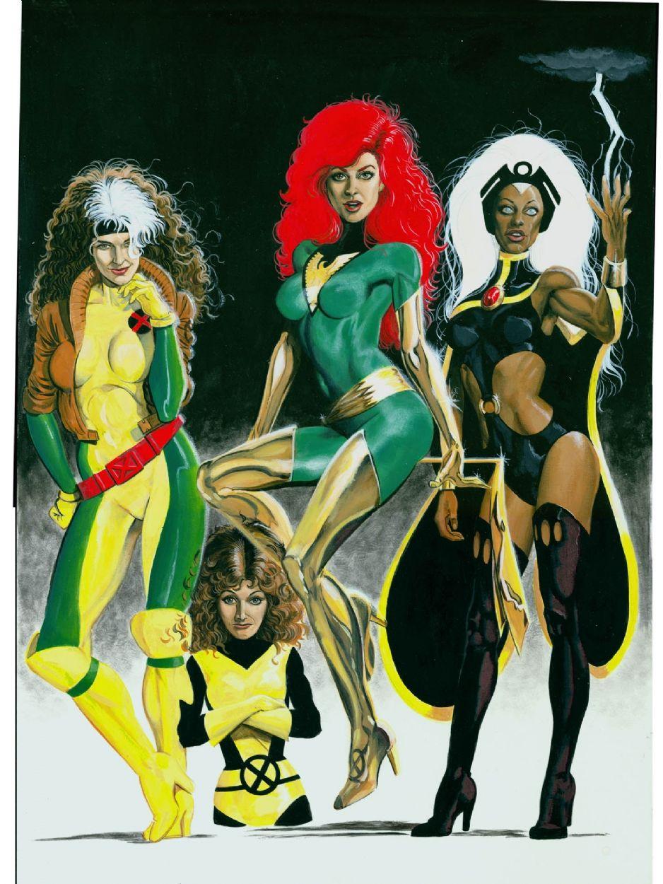 The Women Of The X Men Comic Art Comics Girls Marvel Girls Marvel Heroines