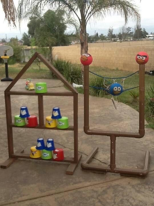 Ideas Para Fiestas De Angry Birds Fiestas Cancheras Party Ideas