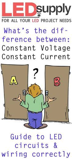 Should you choose a constant current or constant voltage LED driver? Click the pin and learn today!