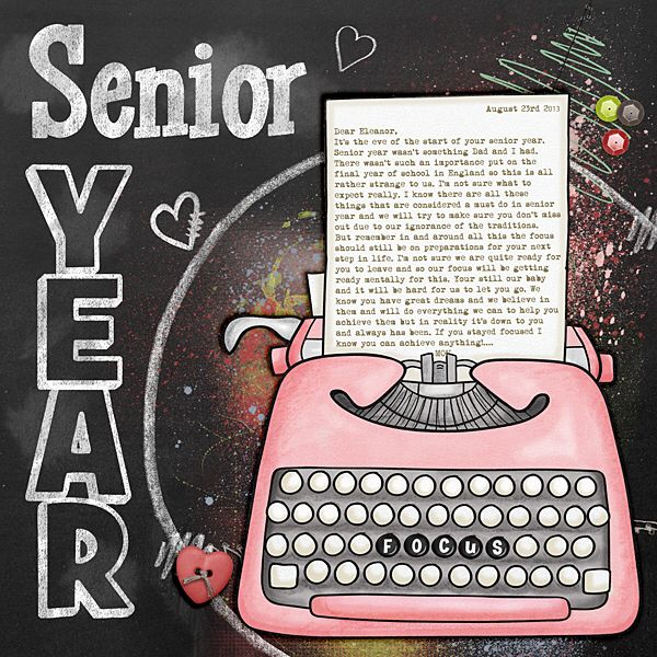 Pin by Courtney Diehl on Scrapbook crafts Senior