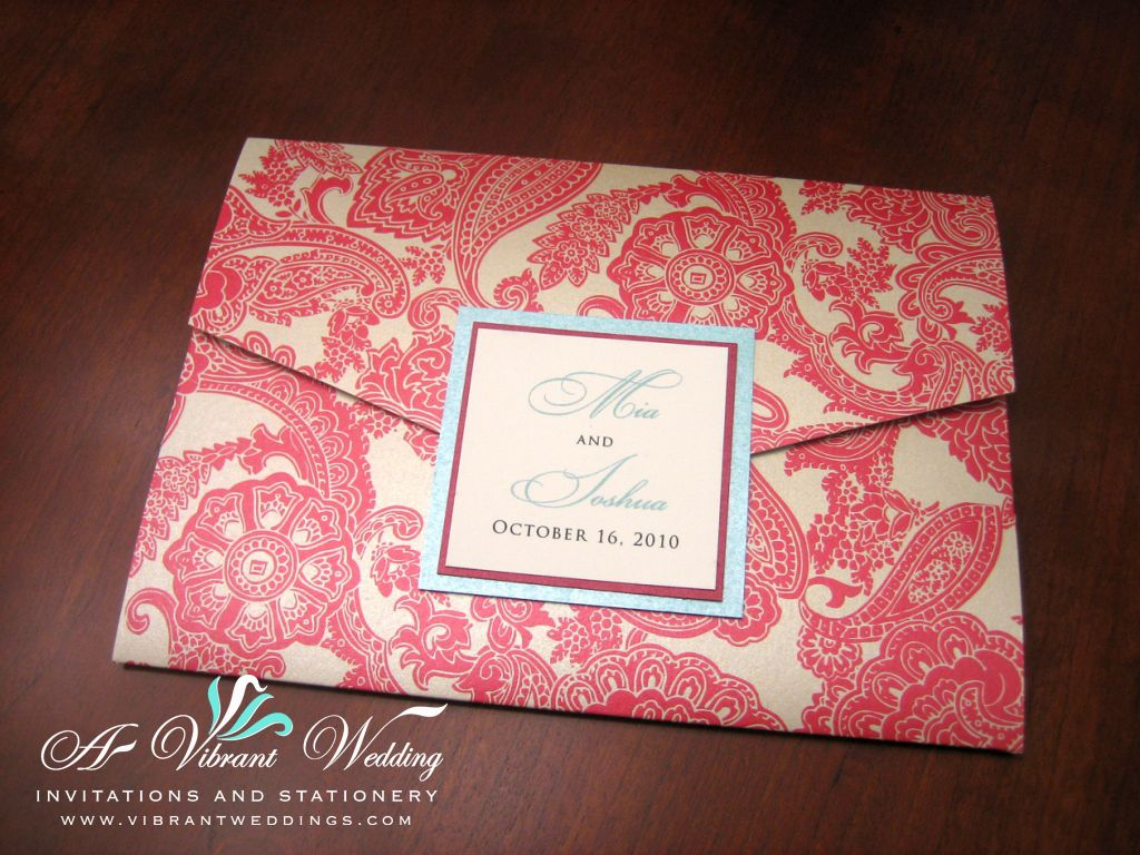 Tiffany Blue And Red Wedding Invitations: Tiffany Blue And Red Wedding Invitation