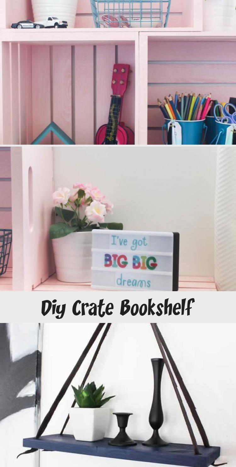 Photo of Diy Crate Bookshelf – Decor Zone
