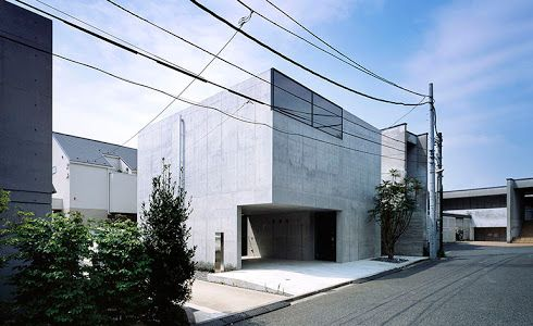 image result for japanese minimalist concrete homes wrixon
