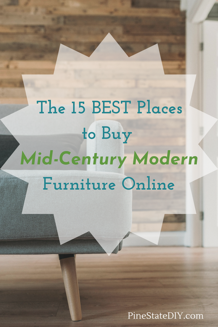The 15 Best Places To Mid Century Modern Furniture Online