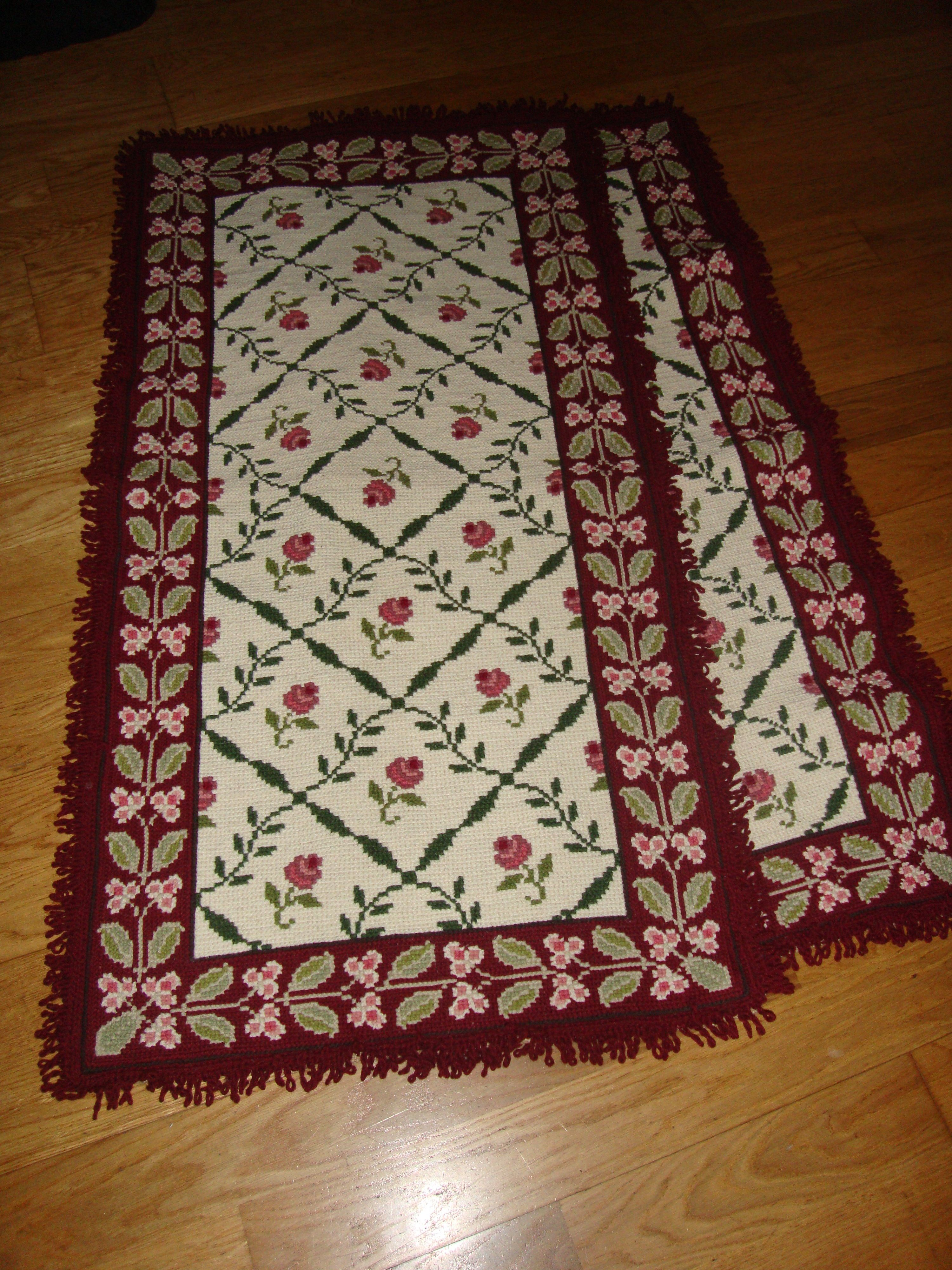 Arraiolos Rug For Bedroom Size Can Be Changed Larger Tapetes De Arraiolos