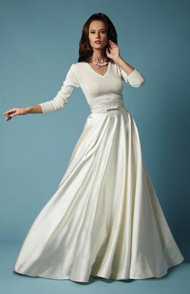 Fancy Bridal NY For The Older Bride