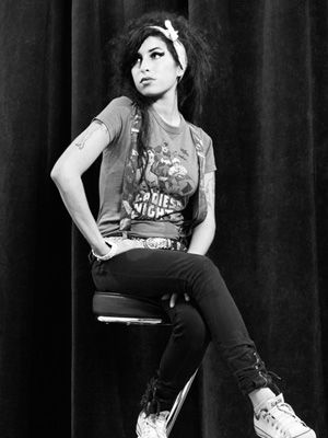 Amy Winehouse her voice felt like reading great words on a page in a soul wrenching story!