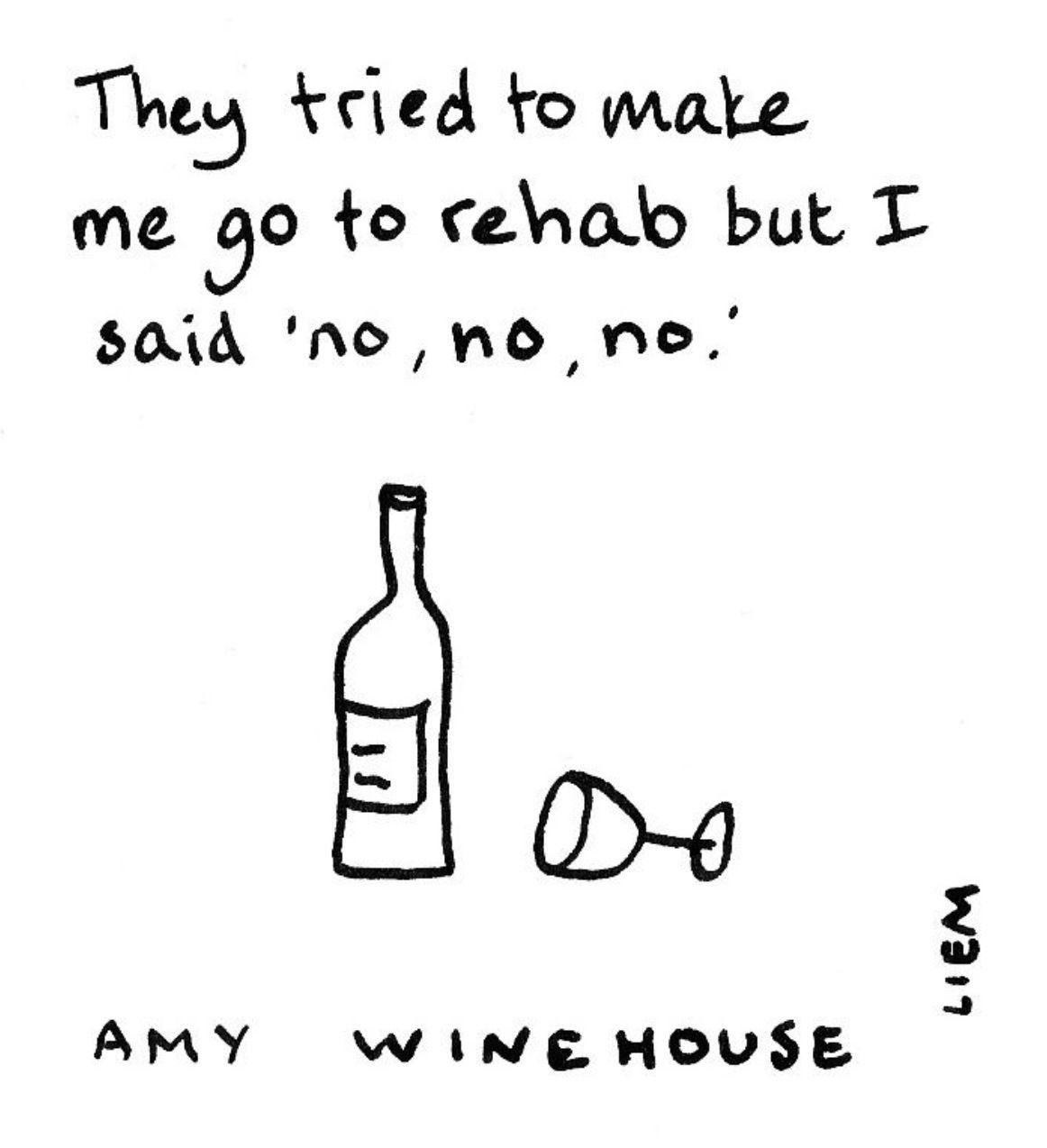 Amy Winehouse Rehab Amy Winehouse Lyrics Amy Winehouse Quotes
