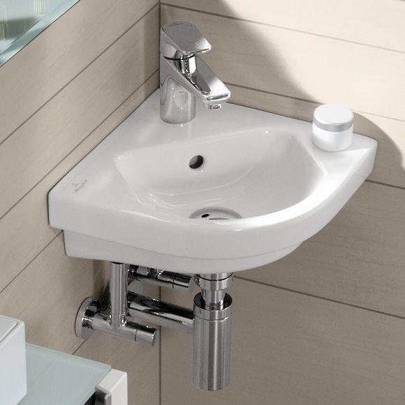 Villeroy \ Boch Subway 20 Eck-Handwaschbecken weiß mit - badezimmer villeroy und boch