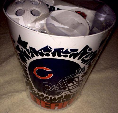 Mancave Bathroom Set Chicago Bears
