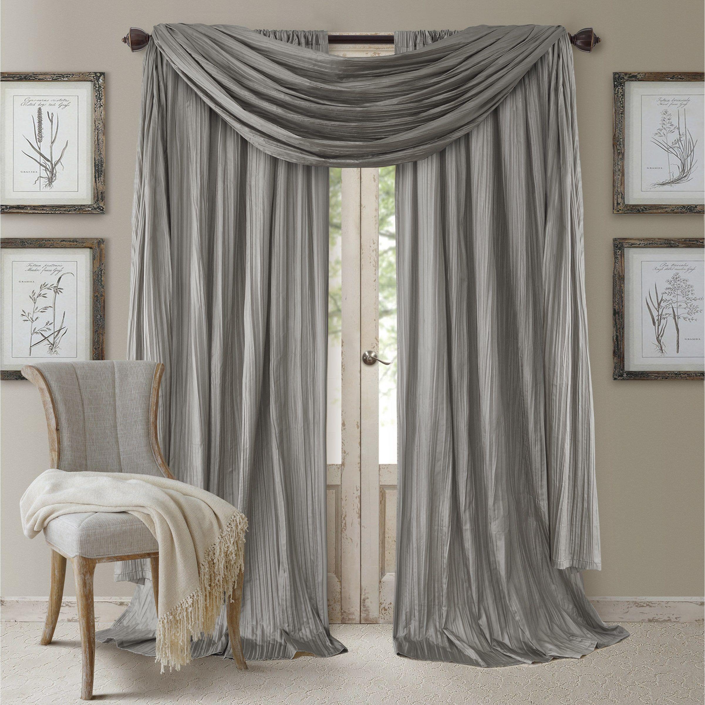 Elrene athena rod pocket curtain panel set of x products