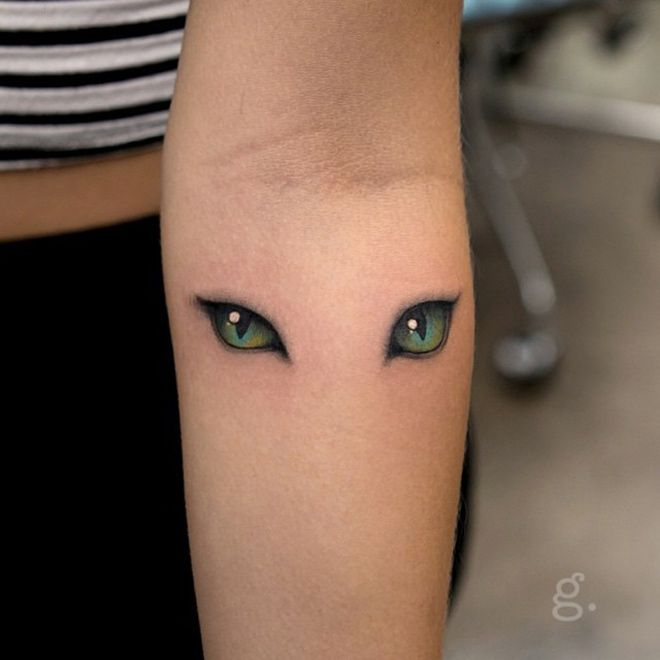I Just Want One Cat Eye Tattooed But For Some Reason Thats Really