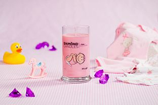 It's a Girl Ring Candle