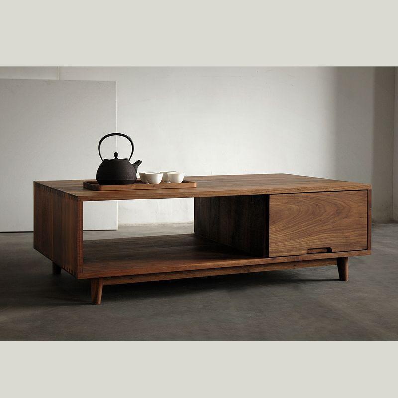 Exceptionnel [Translation] Wood Black Walnut Wood Furniture Oak Wood Coffee Table  Minimalist Nordic Chinese Japanese Muji