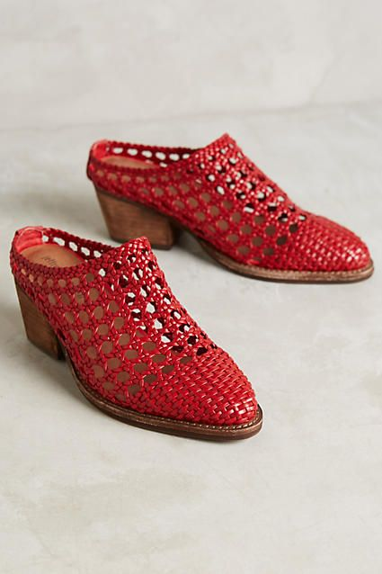 Jeffrey Campbell Armadillo Mules - anthropologie.com