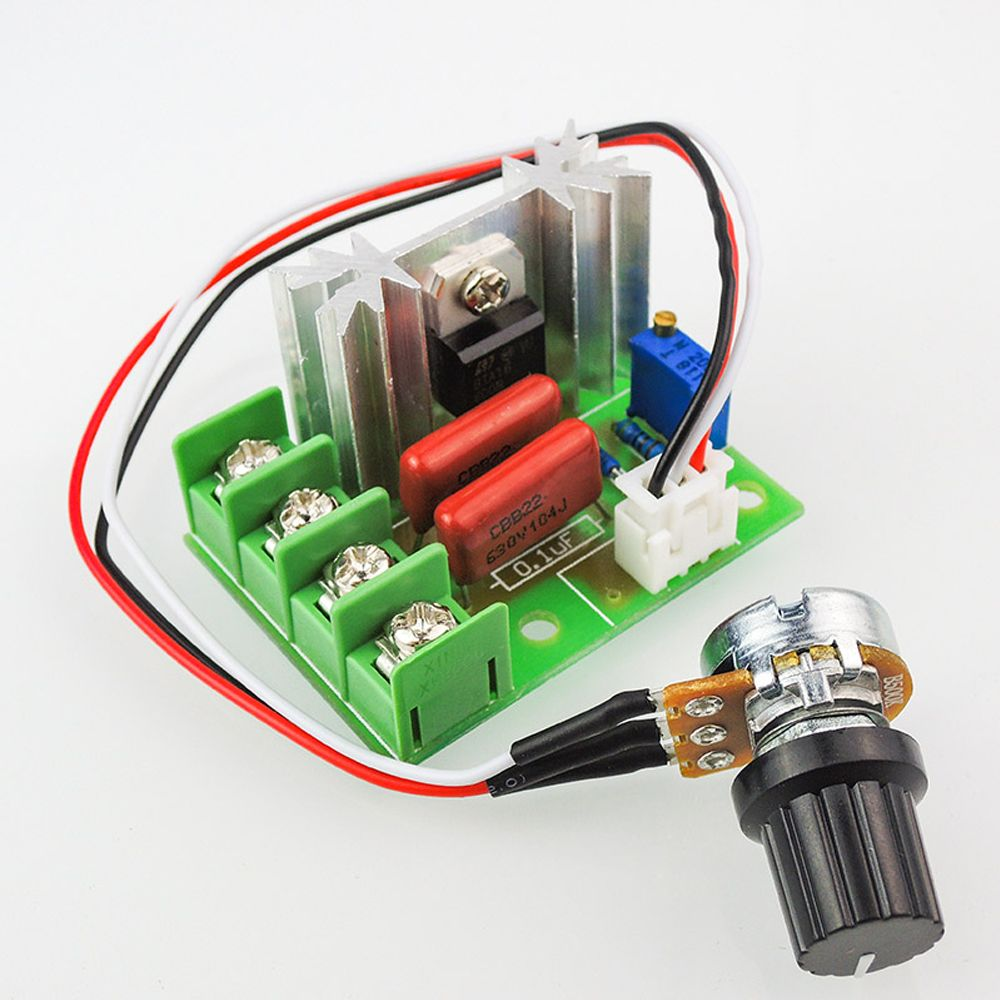 Ac 50 220v 2000w Scr Electric Voltage Regulator Temperature Motor Light Dimmer Speed Controller